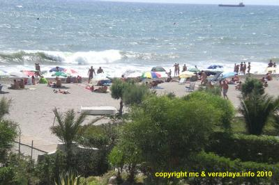 Vera Playa from Natsun - photo copyright mc & veraplaya.info 2010